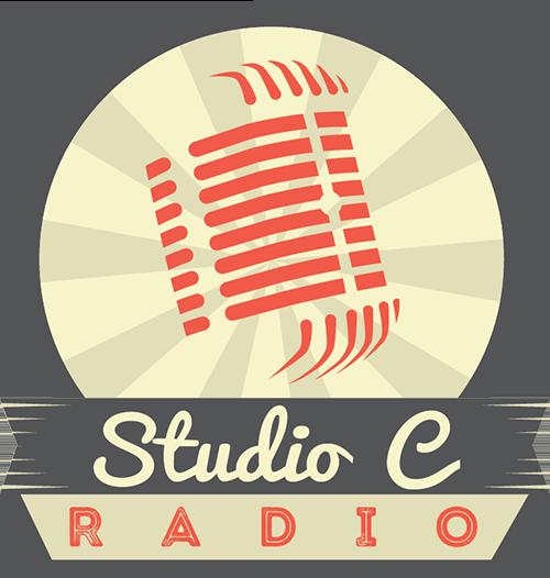 Studio C Radio Logo Design