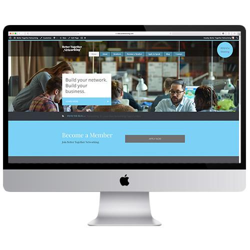 Better Together Networking Website