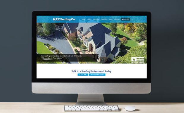 WCC Roofing Website