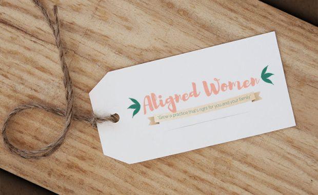 Aligned Women Logo