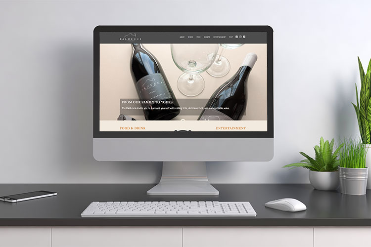Balducci Vineyards Website