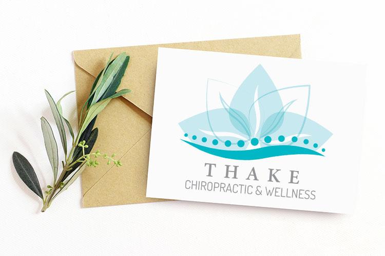Thake Chiropractic Logo Design