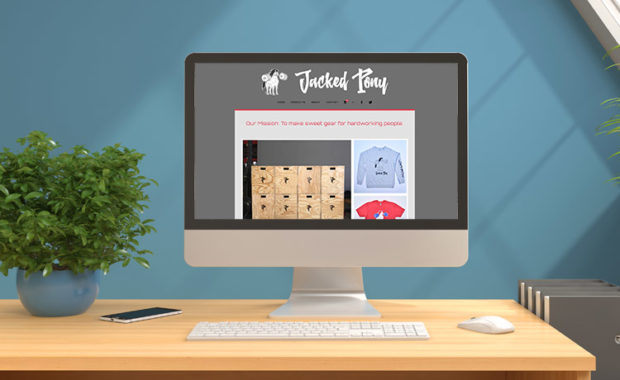 Jacked Pony Website