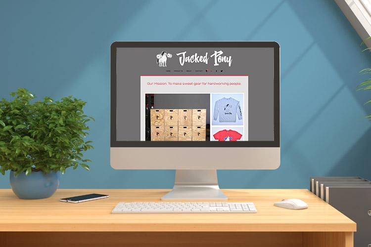 Jacked Pony Website